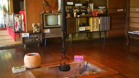 戦後の昭和の家を再現