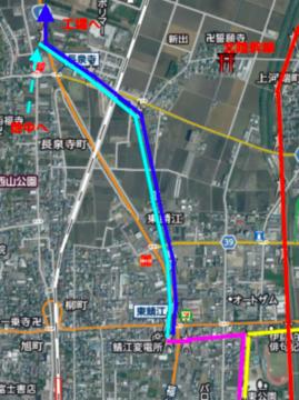 鯖江変電所接続図