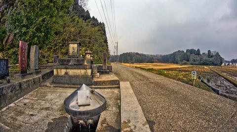 田園と鉄道と円錐