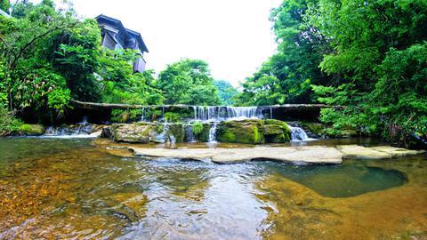 宮島峡1の滝