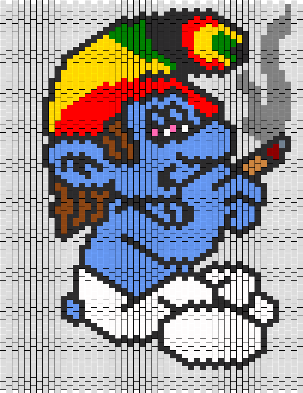 Rasta Smurf