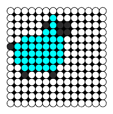 Shep Perler Bead Pattern / Bead Sprite