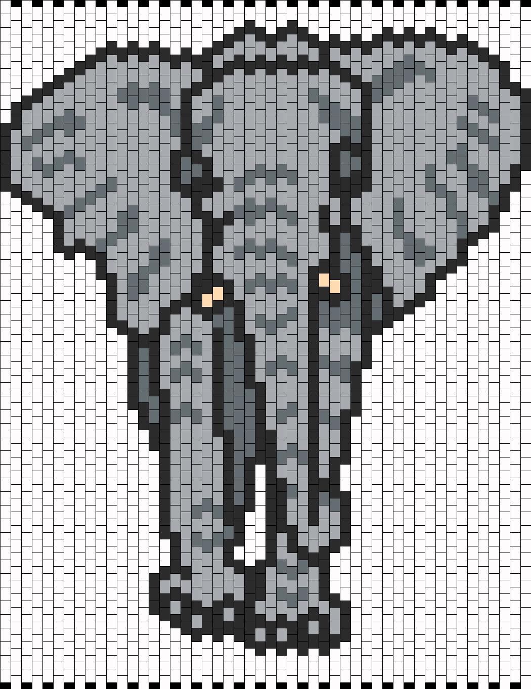 Elephant Bead Pattern