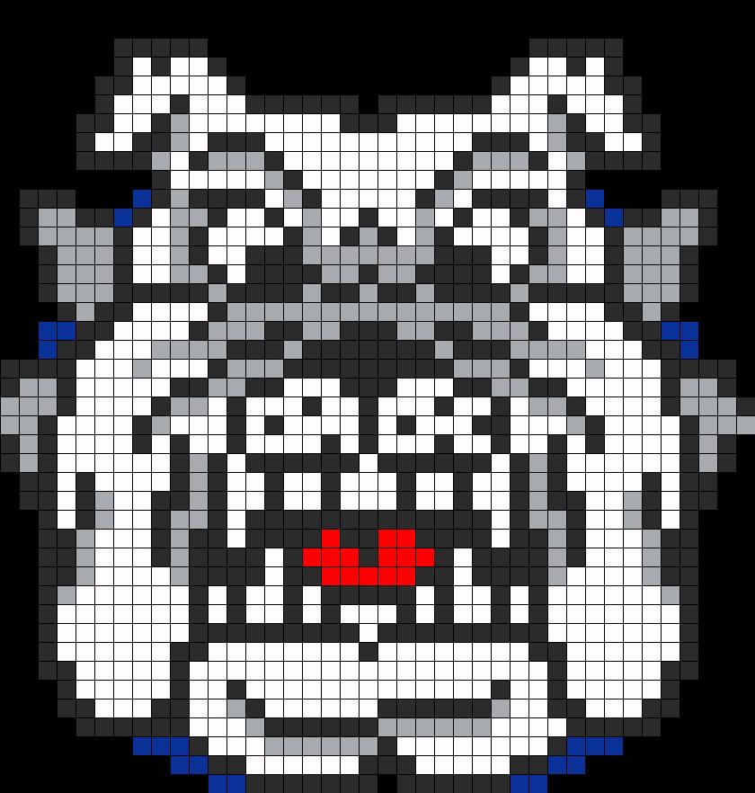 Fresno Bulldog Perler