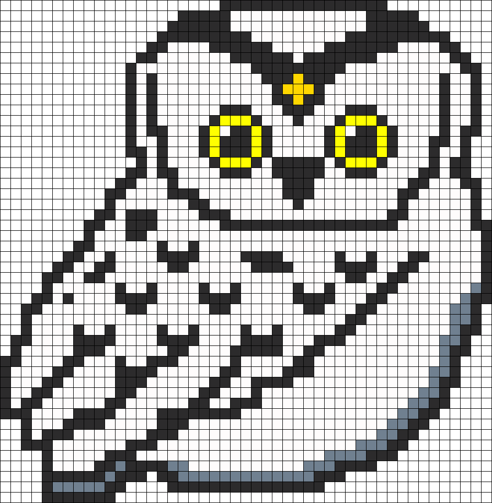 Snowy Owl Perler