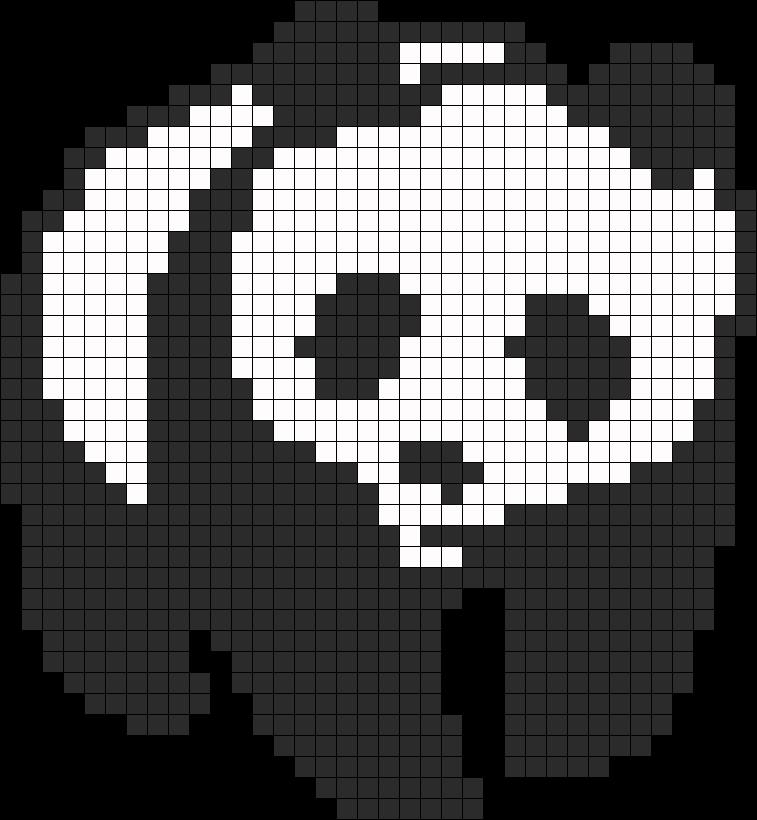 Panda Perler