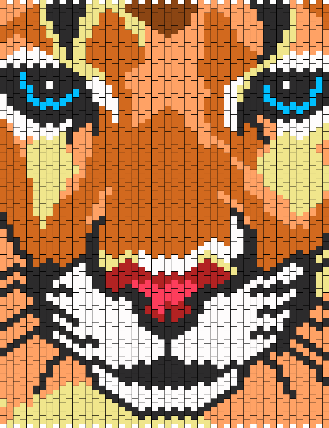Mountain Lion Bead Pattern Peyote Bead Patterns