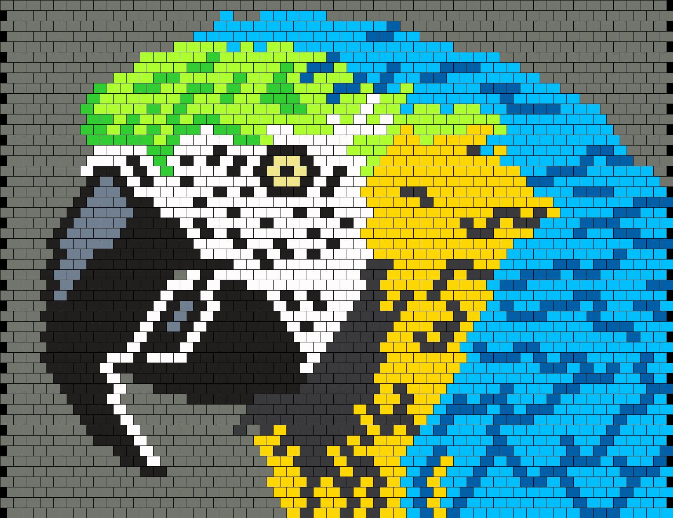 Parrot  Bead Pattern