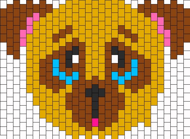 Pug Bead Pattern