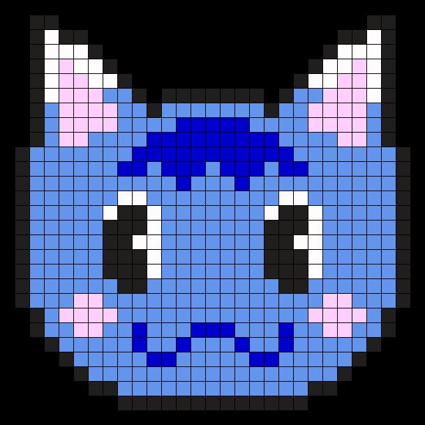 AC Rosie Perler Bead Pattern / Bead Sprite