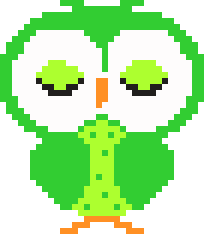Green Small Owl