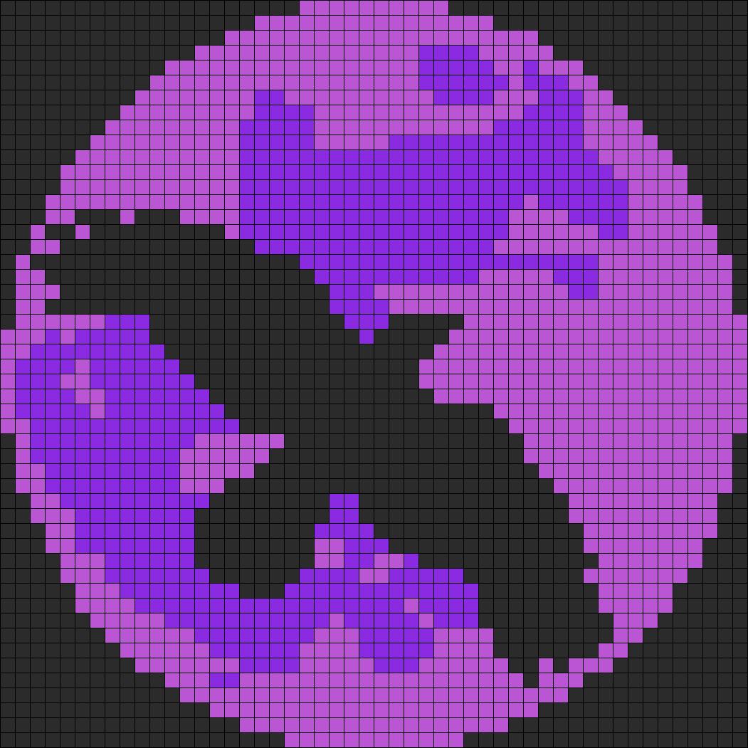 Crow N Purple Moon