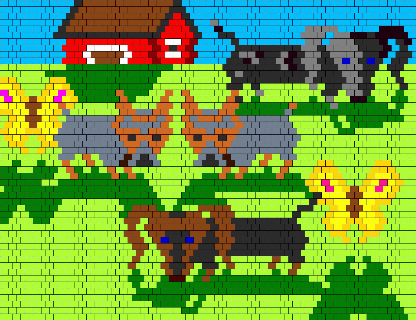 Dog Shadowz Bead Pattern