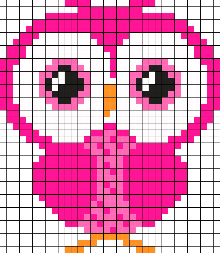 Pink Small  Owl