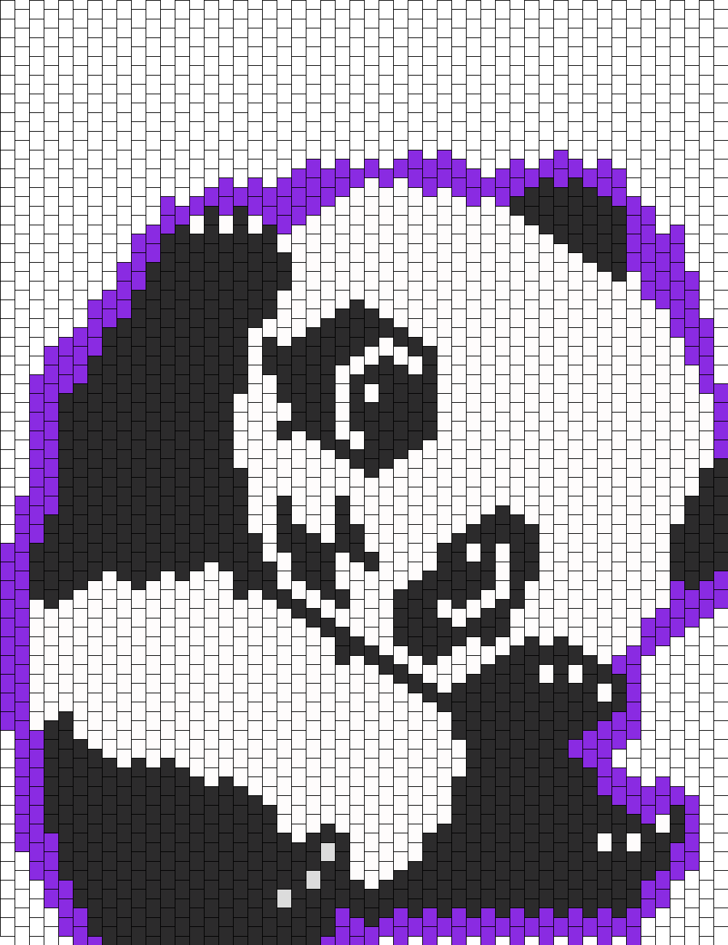 Adorable Panda And Purple Background