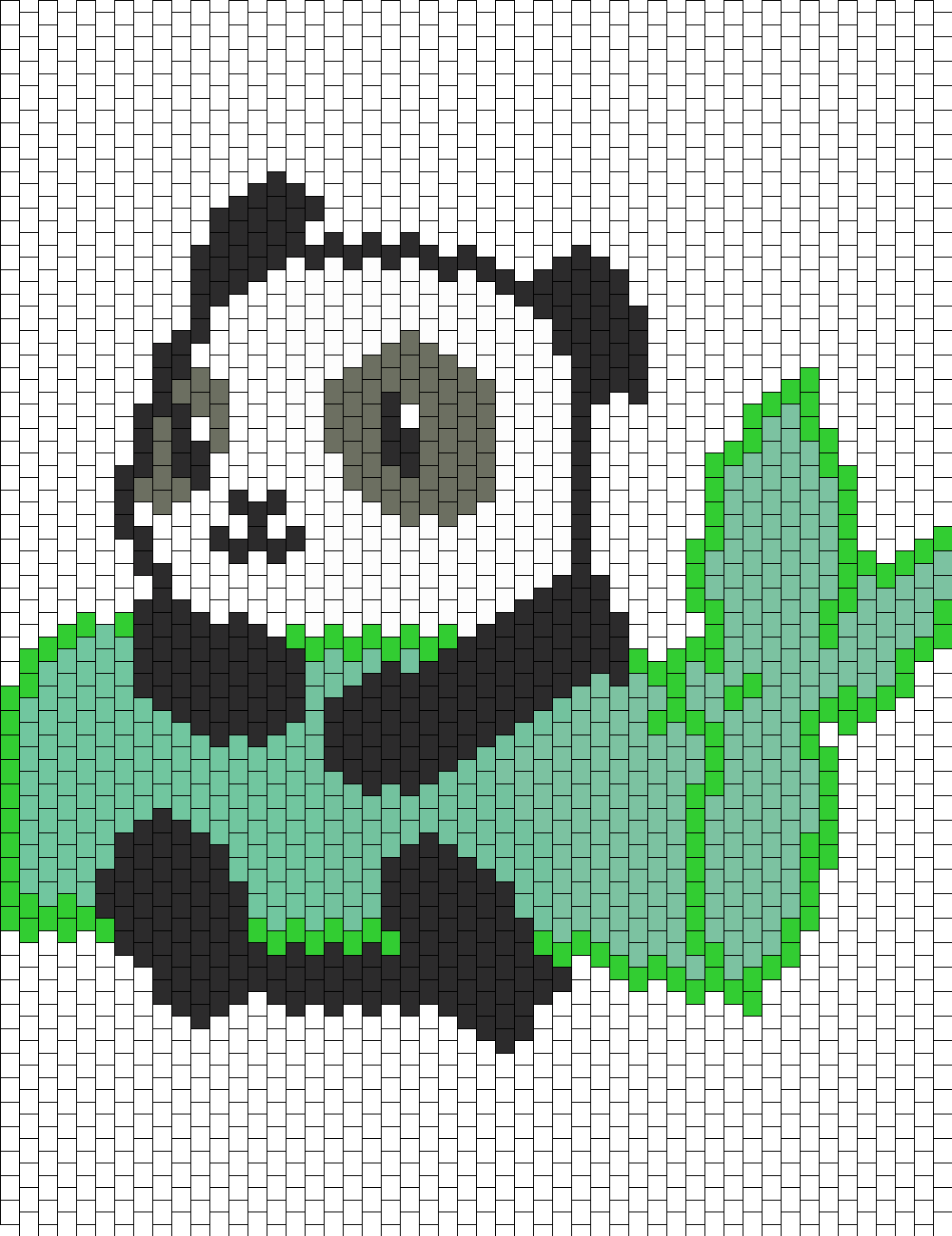 Panda Holding Bamboo
