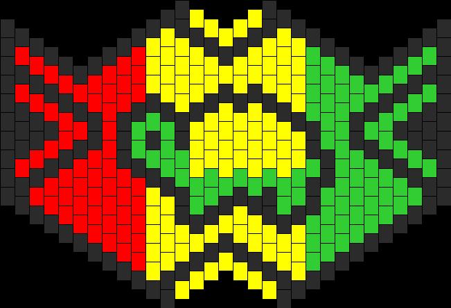 Rasta Ninja Turtle Mask
