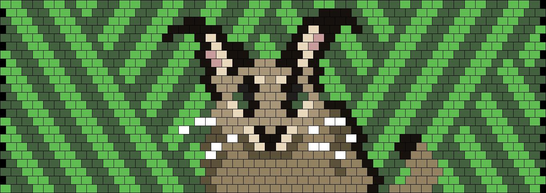 Floppa Cuff / Carcal Cat Cuff Bead Pattern
