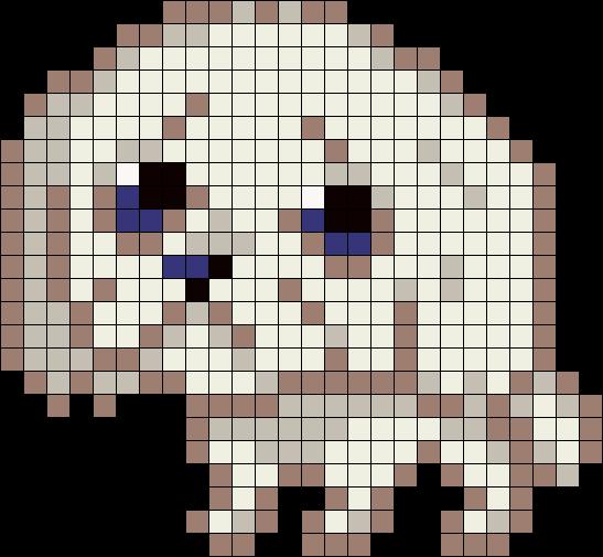 Crusty White Dog
