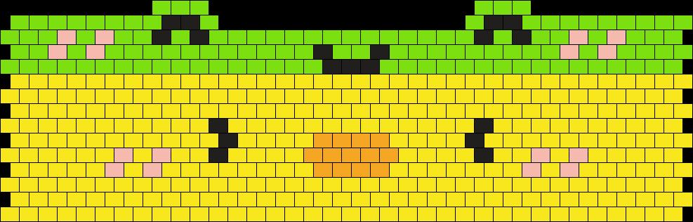 Duck Wearing Froggy Headband :D