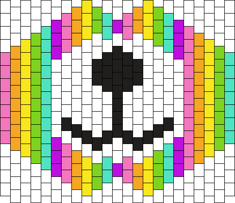 Rainbow Bear Mask