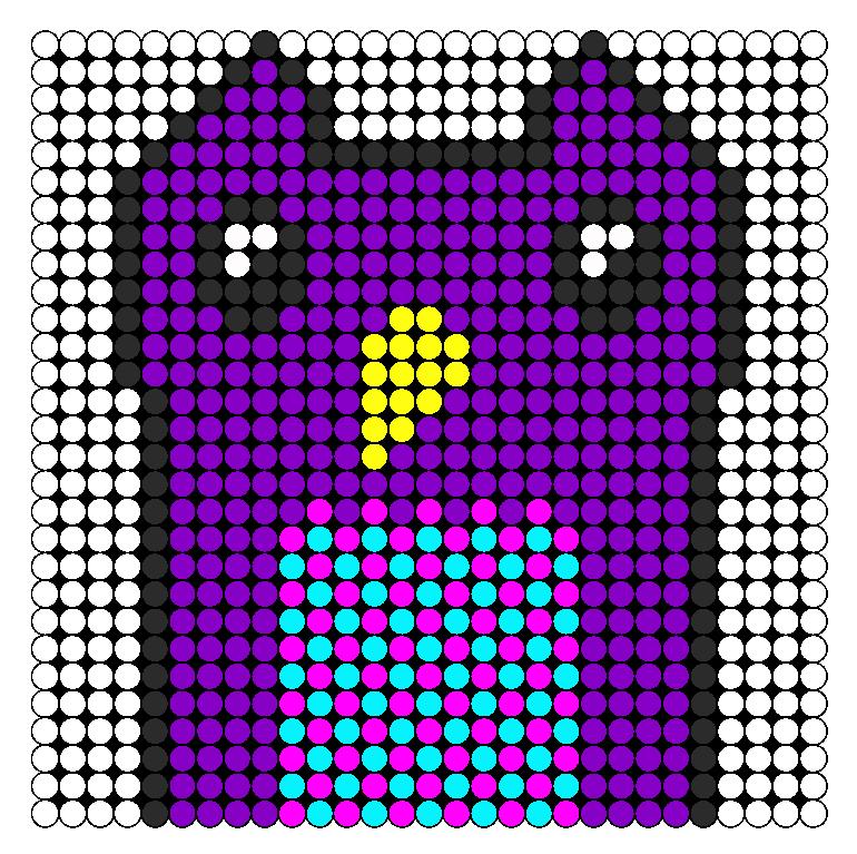 Hoot Perler Bead Pattern / Bead Sprite