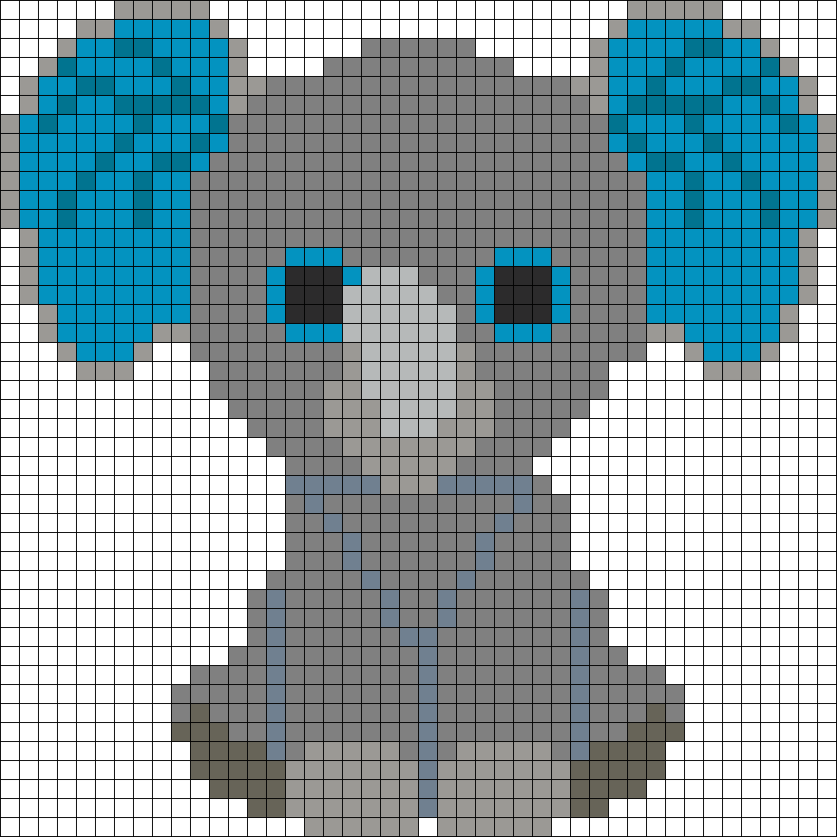 Peanut Elephant Beanie Boo