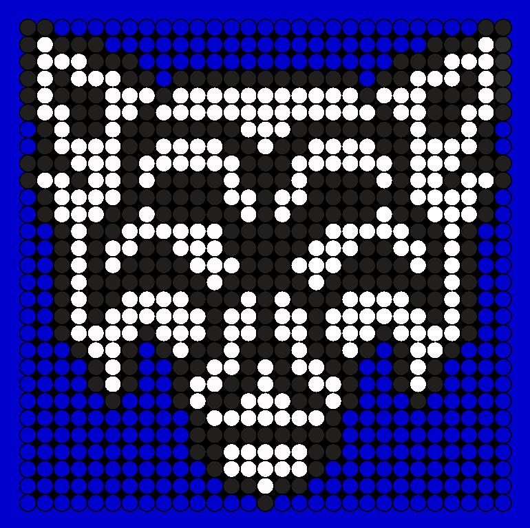Okami Crywolf Perler Perler Bead Pattern / Bead Sprite