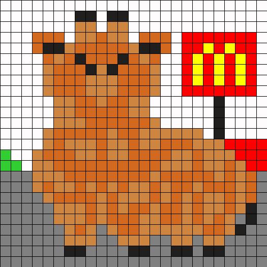 Chubby Giraffe