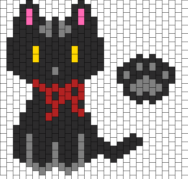 Black Cat Bead Pattern