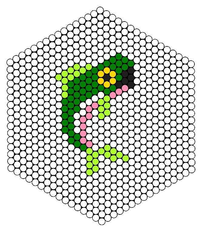 Bass Perler Bead Pattern / Bead Sprite