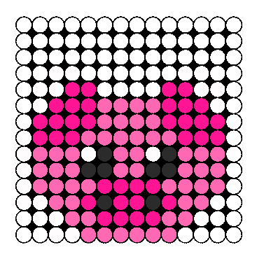Piggy Perler Bead Pattern / Bead Sprite
