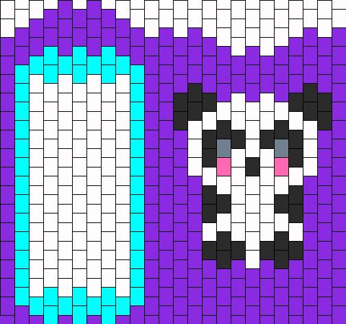 panda ipod touch case