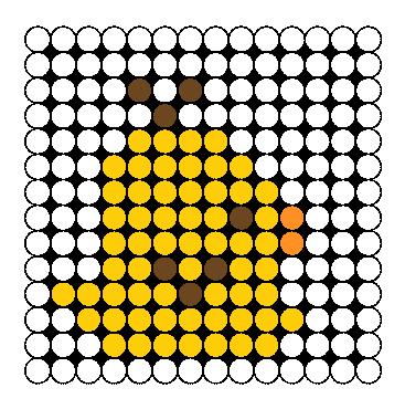 Bird Perler Bead Pattern / Bead Sprite