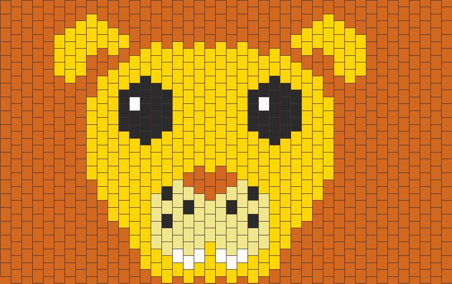 Lion Bead Pattern