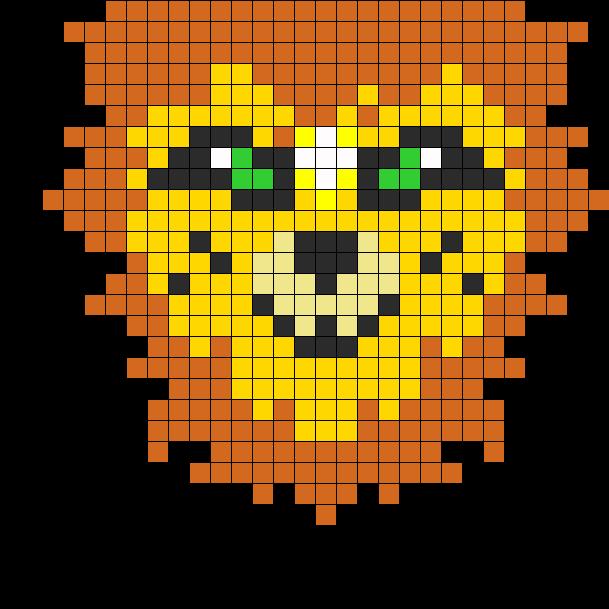 Lion Perler