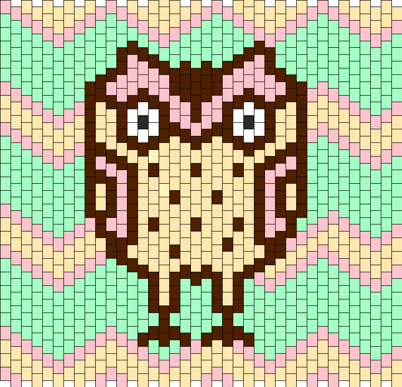 Pastel Owl  Bag or Poster