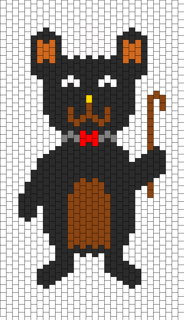 fancy black bear