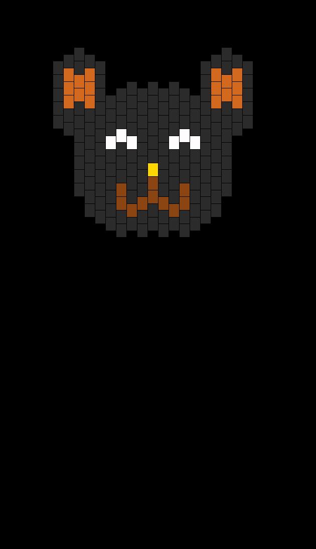 black bear head