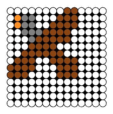 Eagle Perler Bead Pattern / Bead Sprite