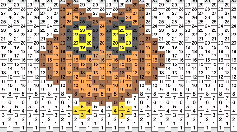 owl no1 pony bead patterns animals kandi patterns for
