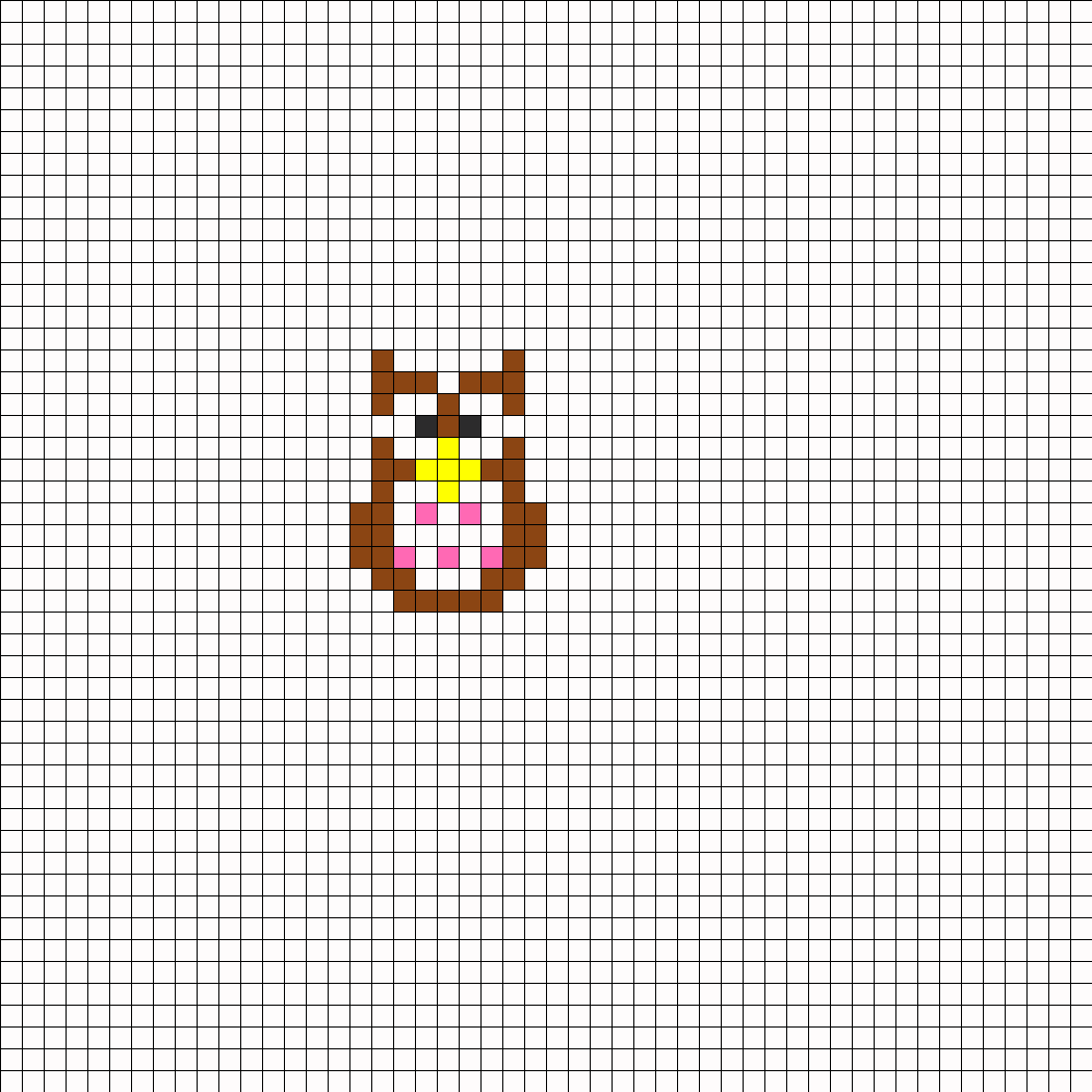 Owl perler bead pattern bead sprite this pattern is designed for fuse