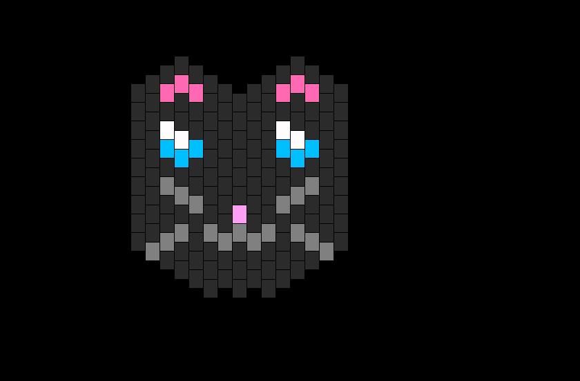 Cute Balck Kandi Cat