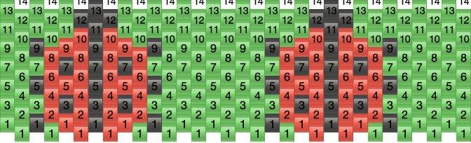 1e5530e2beb4 Ladybugs Pony Bead Patterns