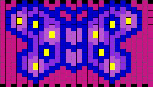Simple Butterfly Kandi Pattern