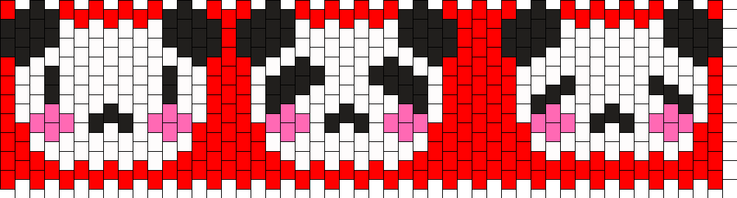 Panda Version 2 Kandi Pattern