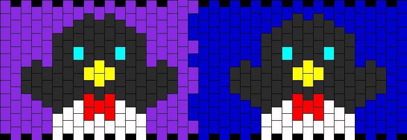 Penguins Kandi Pattern