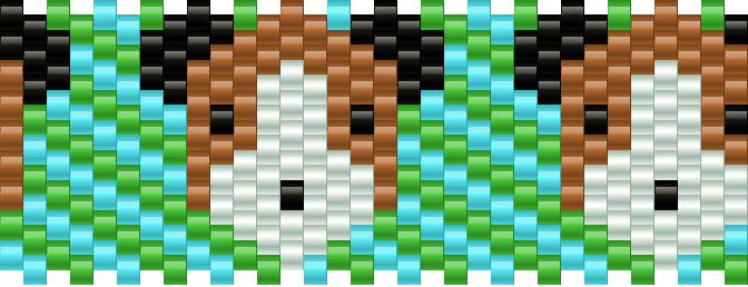 Dog Kandi Pattern