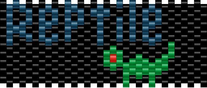 Reptile Kandi Pattern