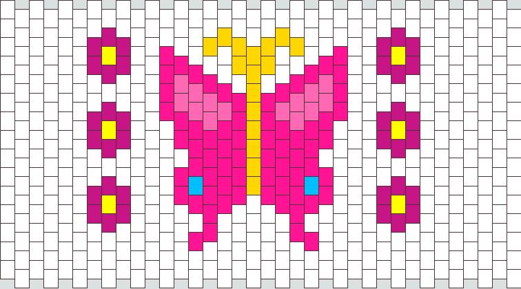 Butterfly Kandi Pattern